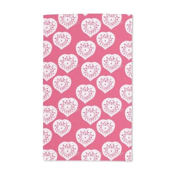 Russian Hearts Hand Towel (Set of 2)