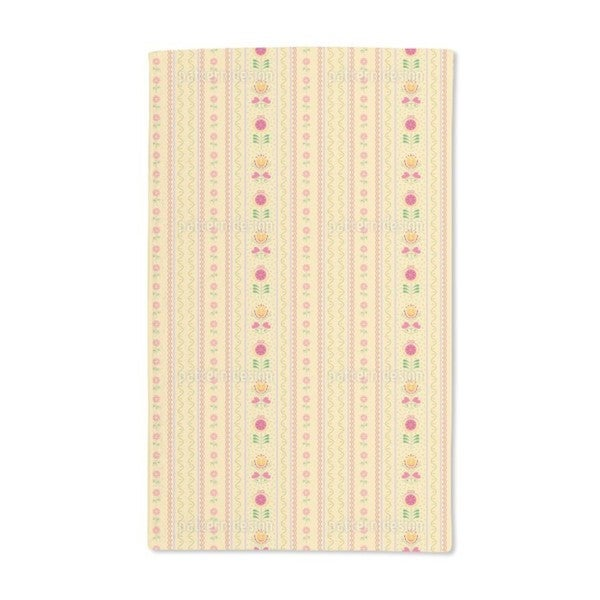 Florets and Tulips Hand Towel (Set of 2)