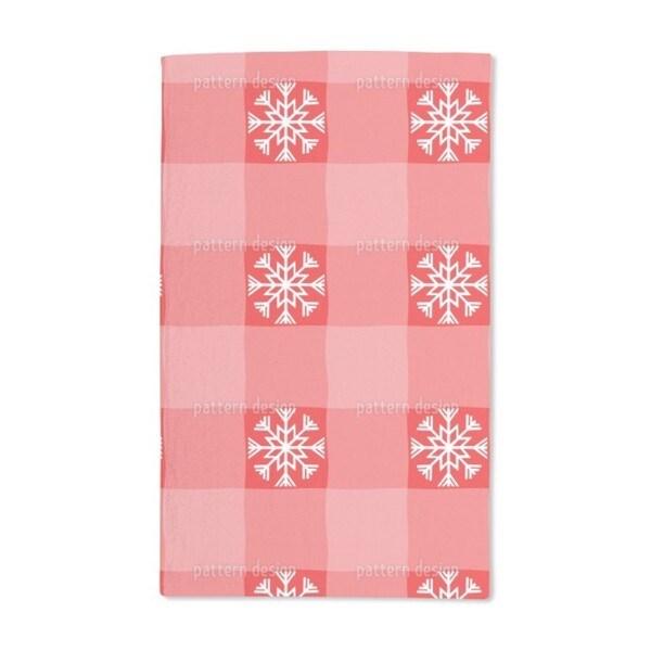 Christmas Tartan Hand Towel (Set of 2)