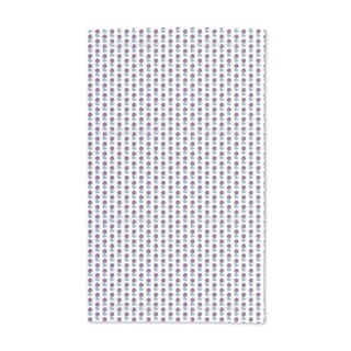 Block Print Florets Hand Towel (Set of 2)