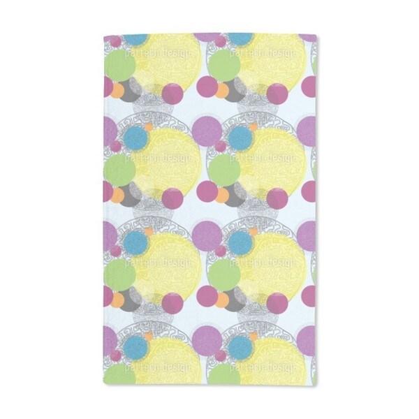 Circle Maze Hand Towel (Set of 2)