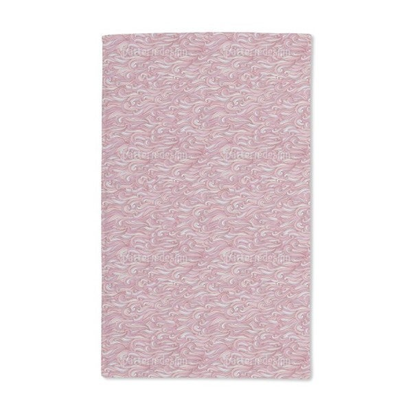 Gentle Waves at Sunset Hand Towel (Set of 2)