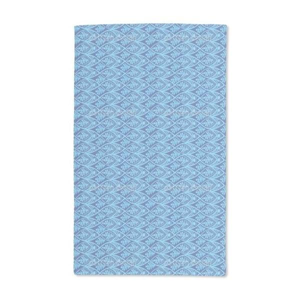Maori Fish Hand Towel (Set of 2)