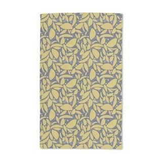 Gold Leaf Hand Towel (Set of 2)