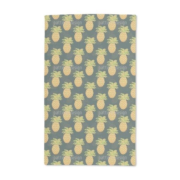 Ripe Pineapples Hand Towel (Set of 2)