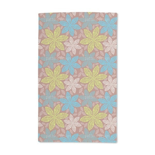 Polynesian Flora Hand Towel (Set of 2)