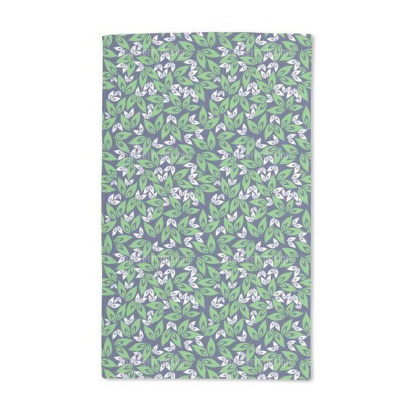 Leaf on Leaf Hand Towel (Set of 2)