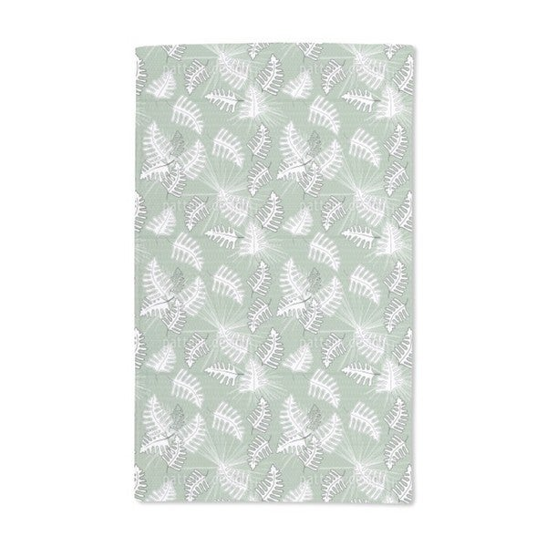 Green Moss Hand Towel (Set of 2)