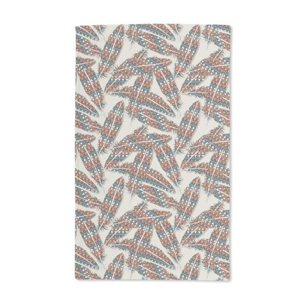 Indian Feathers Hand Towel (Set of 2)