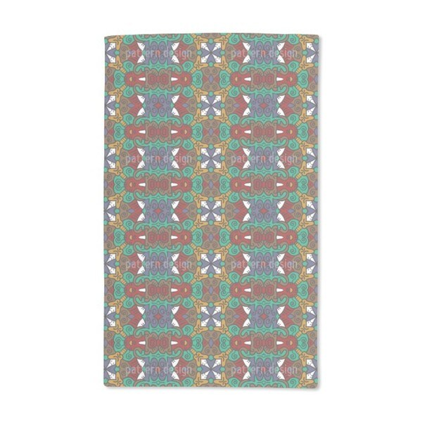 Leader of the Tribe Hand Towel (Set of 2)