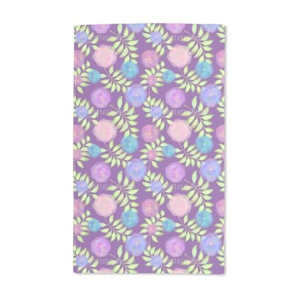 Floristic Decoration Hand Towel (Set of 2)
