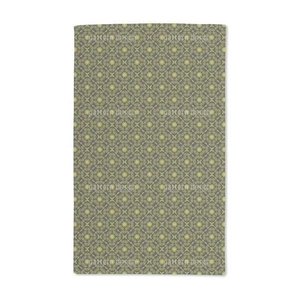Yellow Paradise Hand Towel (Set of 2)