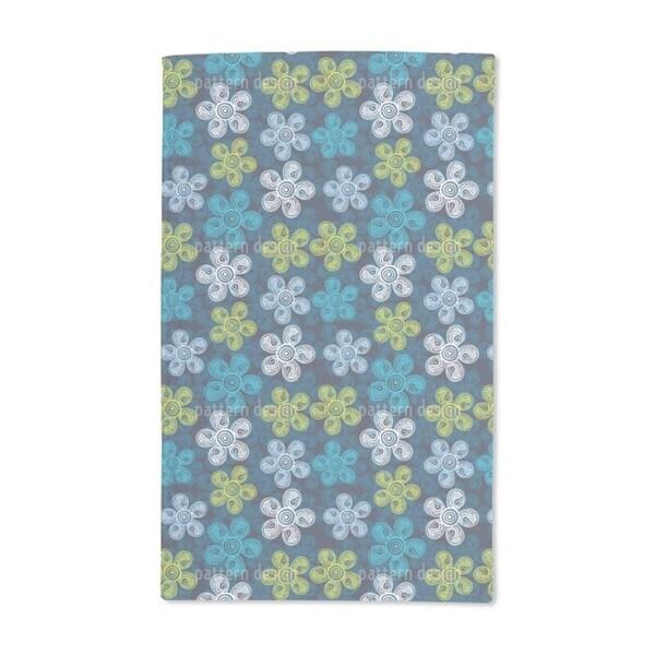 Art Nouveau Floral Hand Towel (Set of 2)