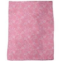 Paisley in Pink Fleece Blanket