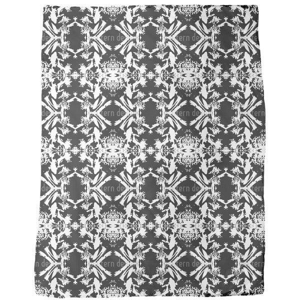 Florock Bw Fleece Blanket