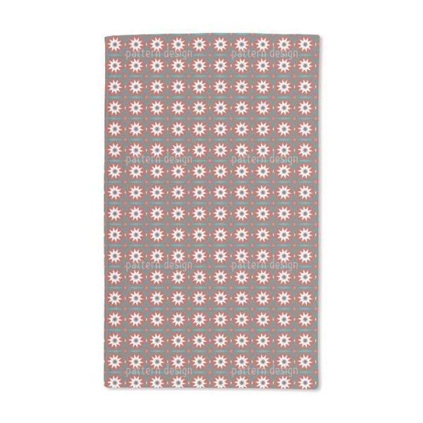 Christmas Star Hand Towel (Set of 2)