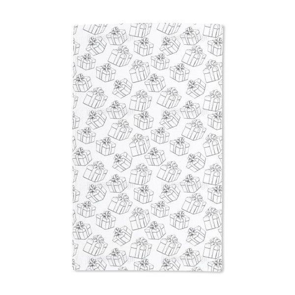 Gift Boxes Hand Towel (Set of 2)