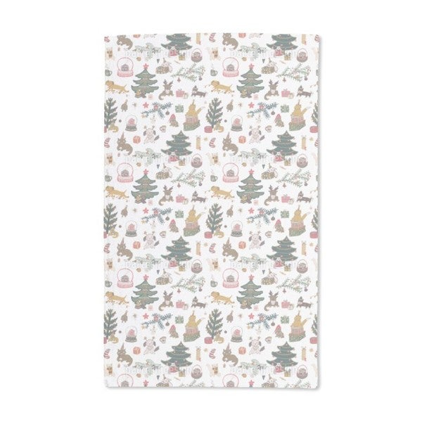 Happy Holiday Season Hand Towel (Set of 2)
