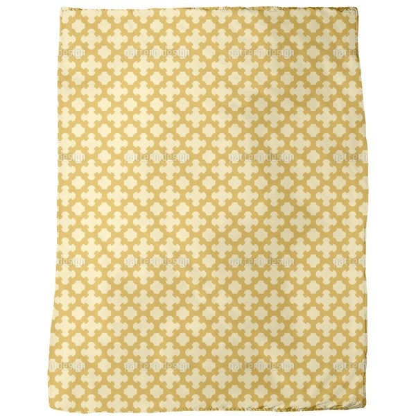 Gothic Trellis Fleece Blanket