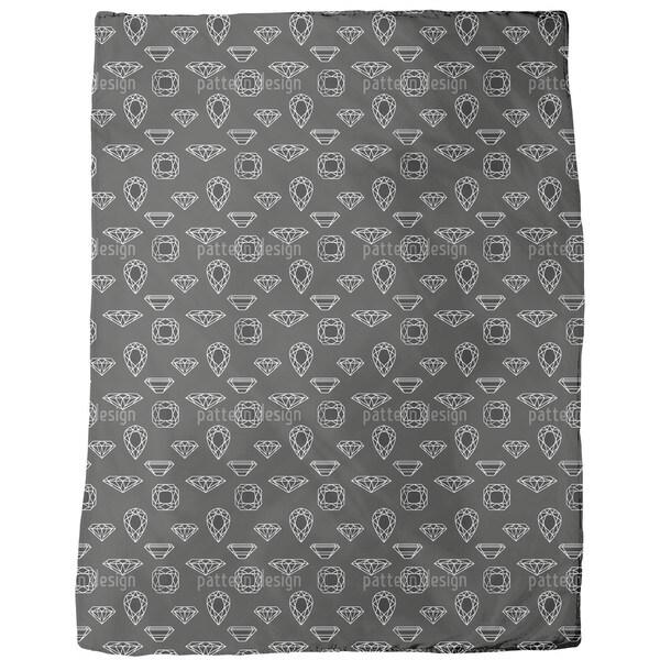 Diamonds Fleece Blanket