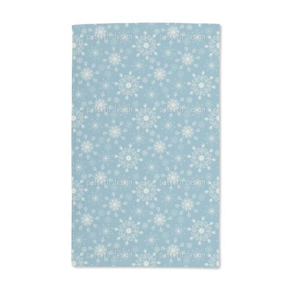 Fantasy Snowflakes Hand Towel (Set of 2)