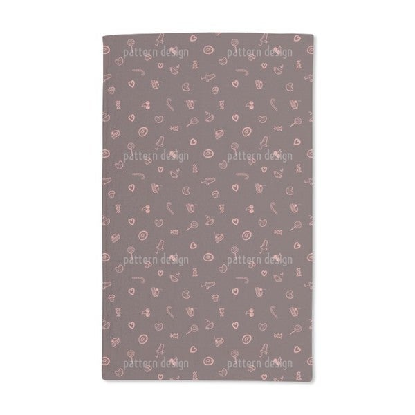 I Love Sweets Hand Towel (Set of 2)