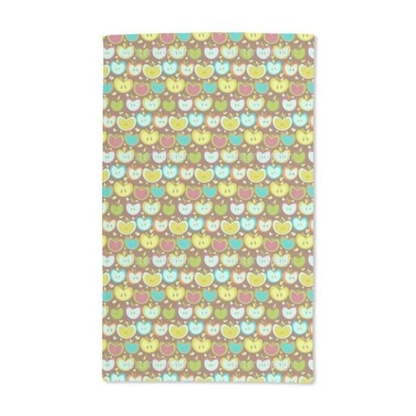 Sweet Apple Patchwork Hand Towel (Set of 2)
