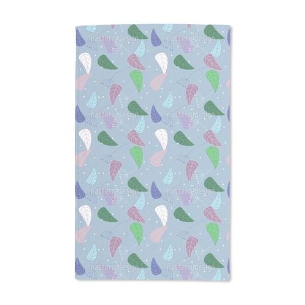 Fancy Leaves Hand Towel (Set of 2)