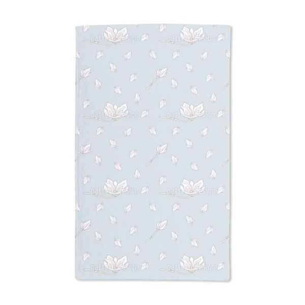 Magnolia Bloom Hand Towel (Set of 2)