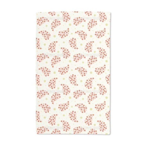 Mini Flowers Hand Towel (Set of 2)