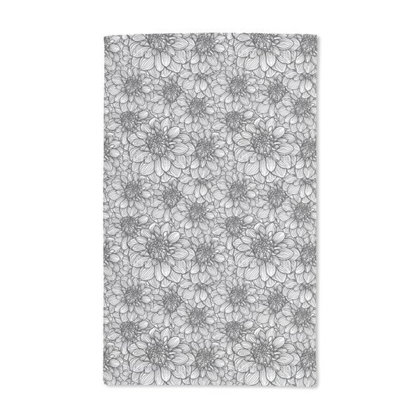 Remember the Dahlias Hand Towel (Set of 2)