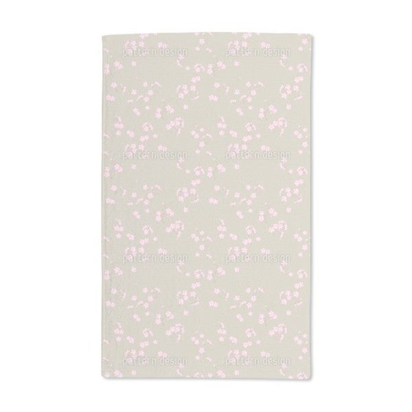 Cherry Blossoms on Sand Hand Towel (Set of 2)