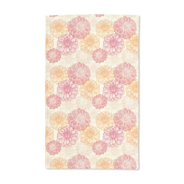 My Most Beautiful Dahlias Hand Towel (Set of 2)