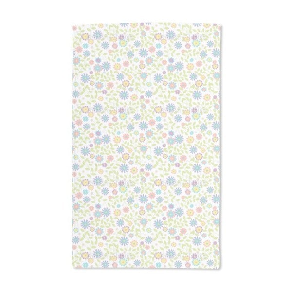 Floral Morning Song Hand Towel (Set of 2)