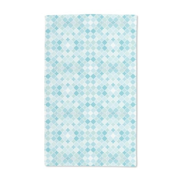 Quatrefoil Mosaic Hand Towel (Set of 2)