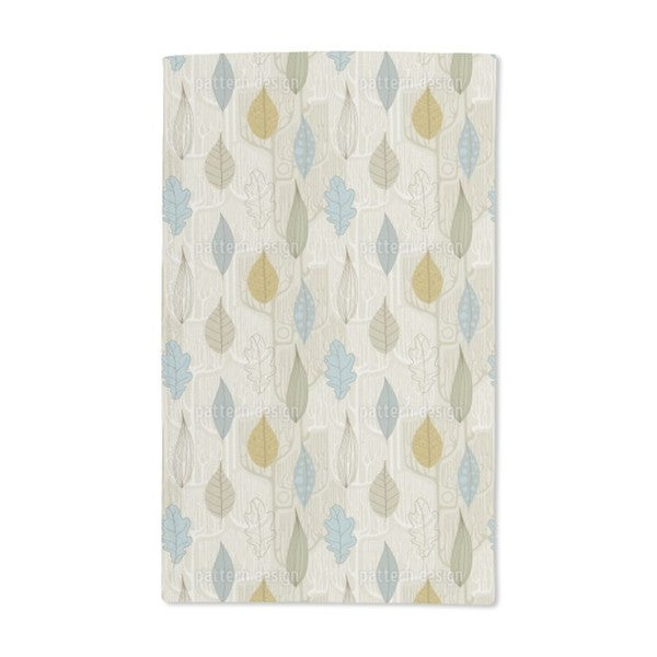 Trees and Leaves Hand Towel (Set of 2)