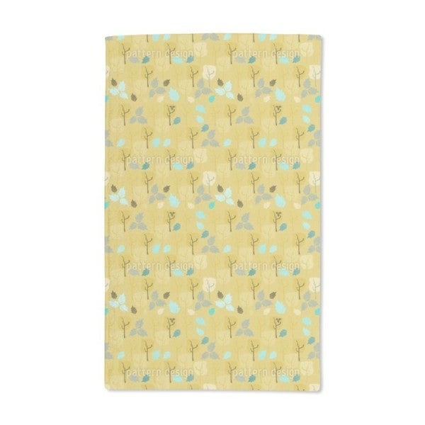 When the Last Leaves Fall Hand Towel (Set of 2)