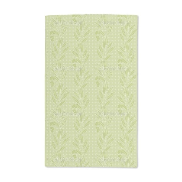 Green Olives Hand Towel (Set of 2)