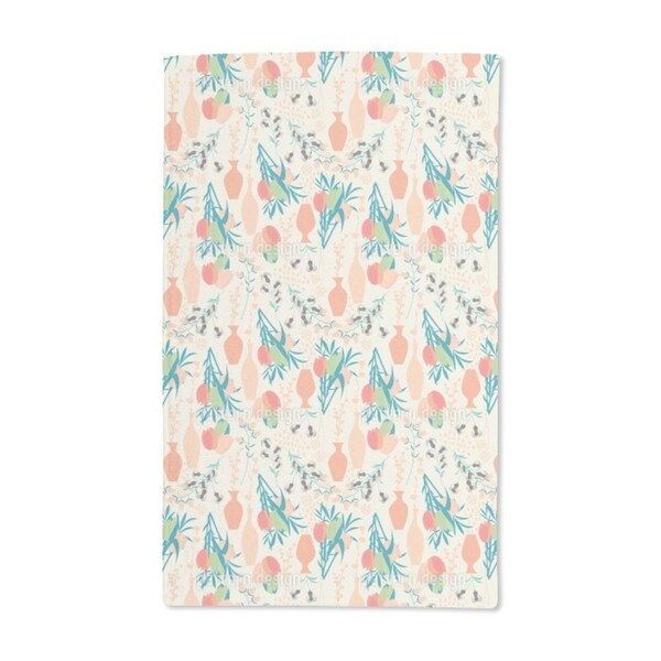 Tulips For Vases Hand Towel (Set of 2)