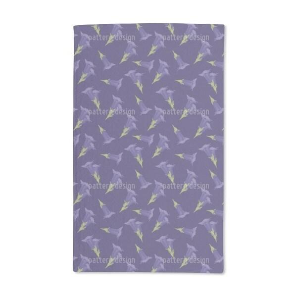 Gentian Blue Hand Towel (Set of 2)