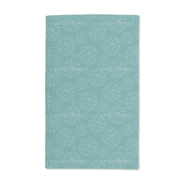 Blooming Flowers Hand Towel (Set of 2)