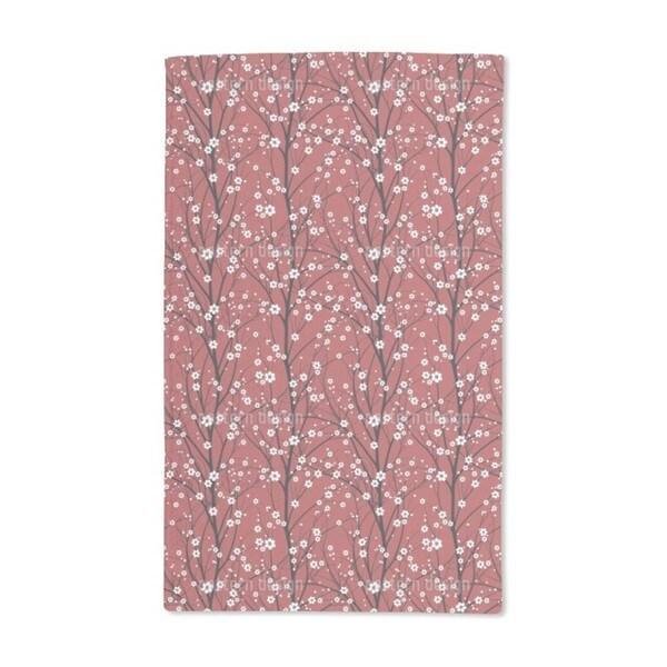 Cherry Tree Hand Towel (Set of 2)