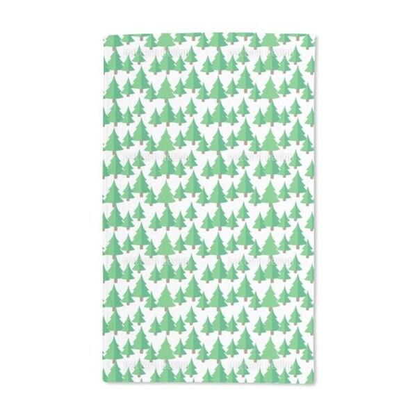 Fir Forest Hand Towel (Set of 2)