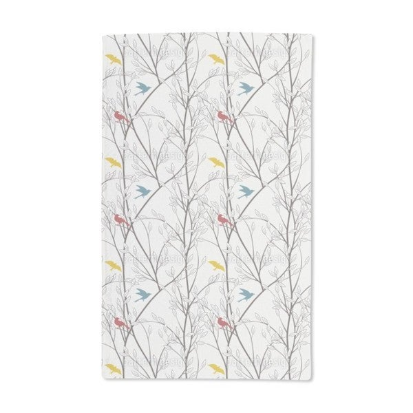 The Birds of the Forest Hand Towel (Set of 2)