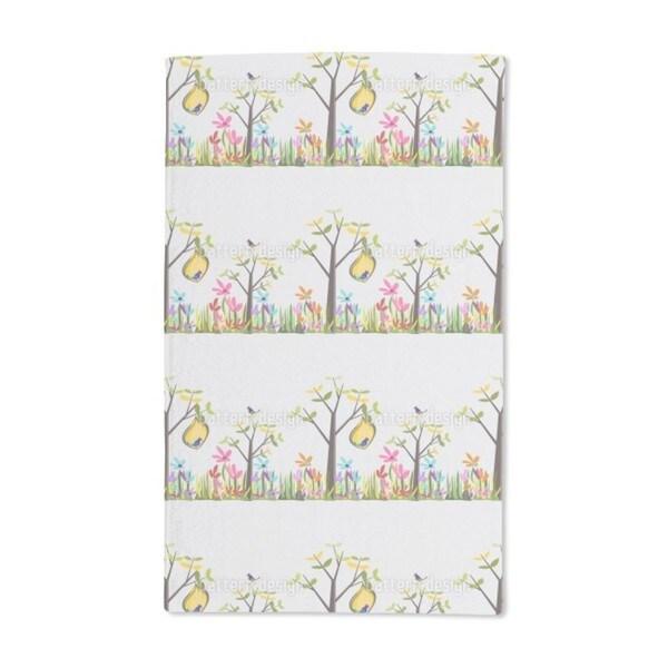 Storybook Garden Hand Towel (Set of 2)