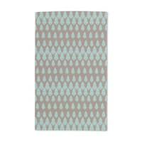 Delilah's Night Turquoise Hand Towel (Set of 2)