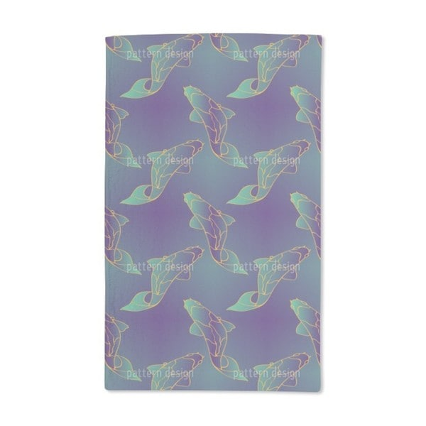 Mystic Koi Hand Towel (Set of 2)