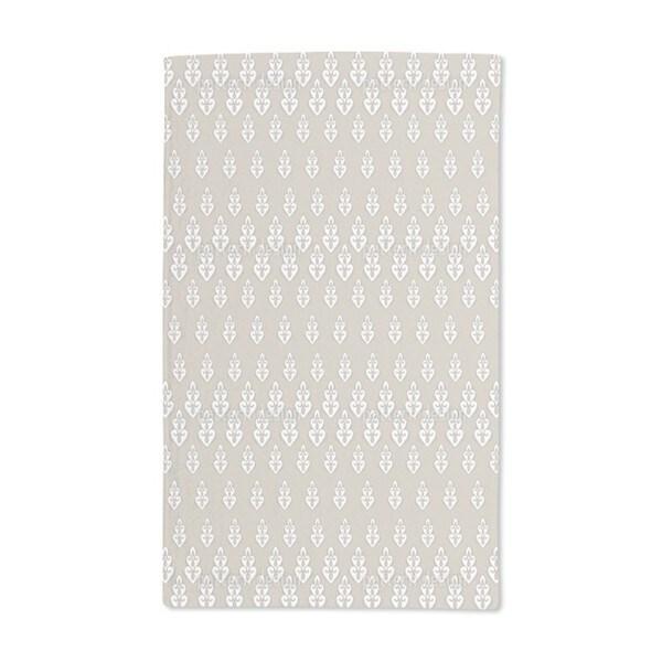 Delilah's Night Beige Hand Towel (Set of 2)