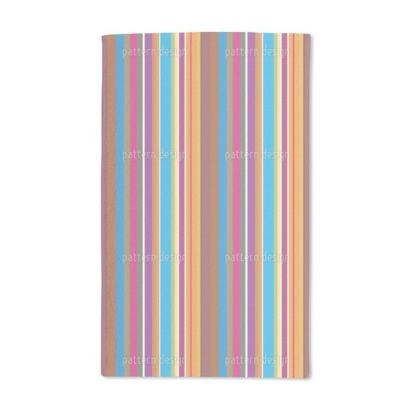 Colorful Stripes Hand Towel (Set of 2)