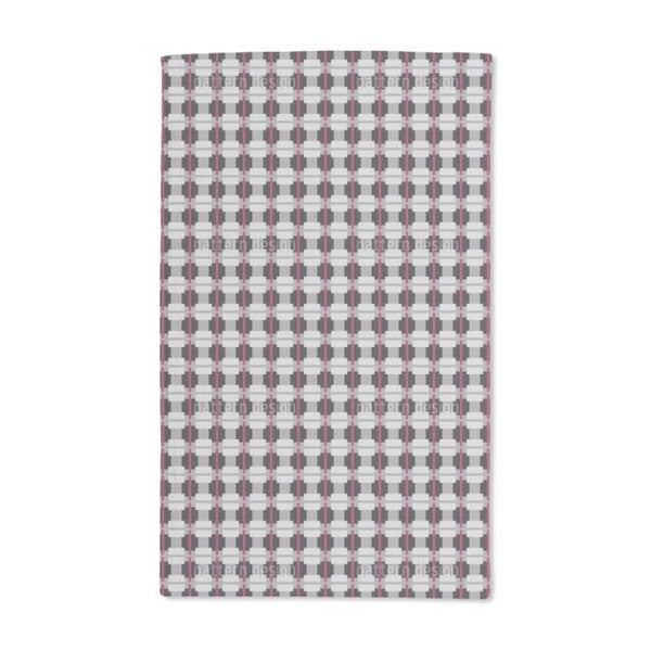 English Squares Hand Towel (Set of 2)